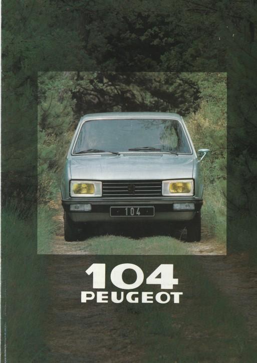 Peugeot 104ZR Modelle 1980