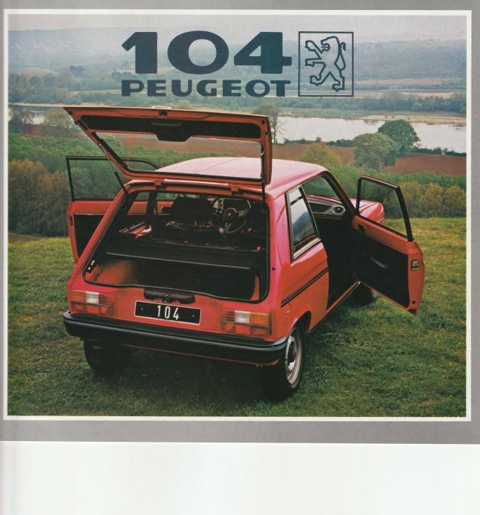 Peugeot 104ZS Modelle 1982