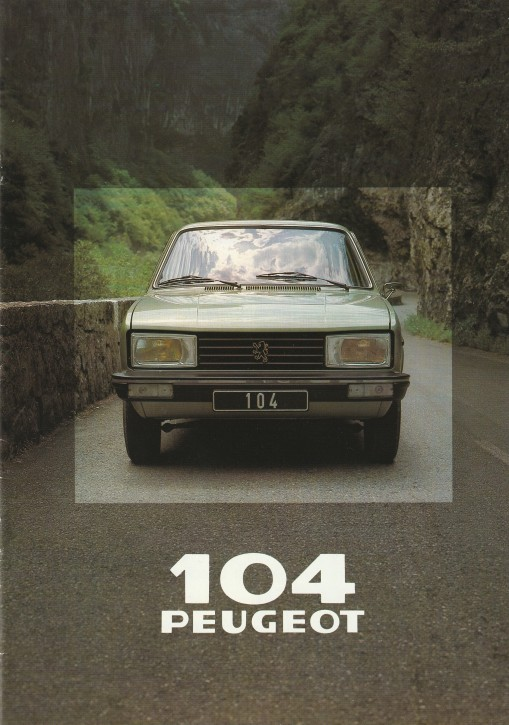 Prospekt Peugeot 104 5-türig