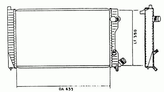 Kühler [1301C4/1301E2/96001830]