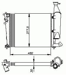 Kühler [133052/1331CP]