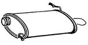 Schalldämpfer hinten [172646]