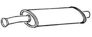 Schalldämpfer mitte [173120]