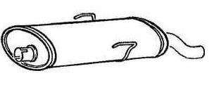 Schalldämpfer hinten [172594]