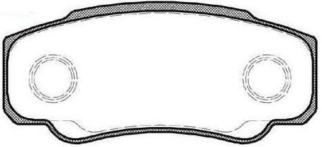 Satz Bremsklötze [425246/425468]