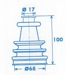 Manschette Gelenkwelle [329340]
