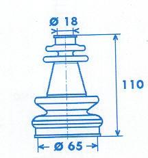 Manschette Gelenkwelle [328770]