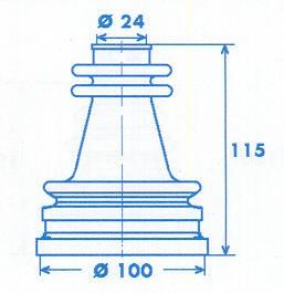 Manschette Gelenkwelle [328772]