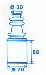 Manschette Gelenkwelle [328769]