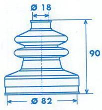 Manschette Gelenkwelle [328771]