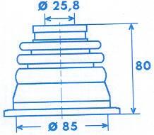 Manschette Gelenkwelle [328789]