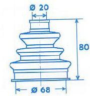 Manschette Gelenkwelle [329304]