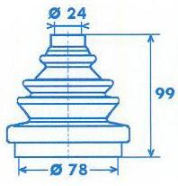 Manschette Gelenkwelle [329301]