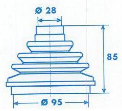 Manschette Gelenkwelle [329300]