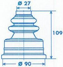 Manschette Gelenkwelle [328790]