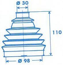 Manschette Gelenkwelle [329306]