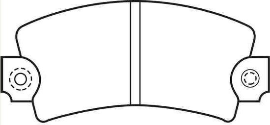 Satz Bremsklötze [425010/425067]