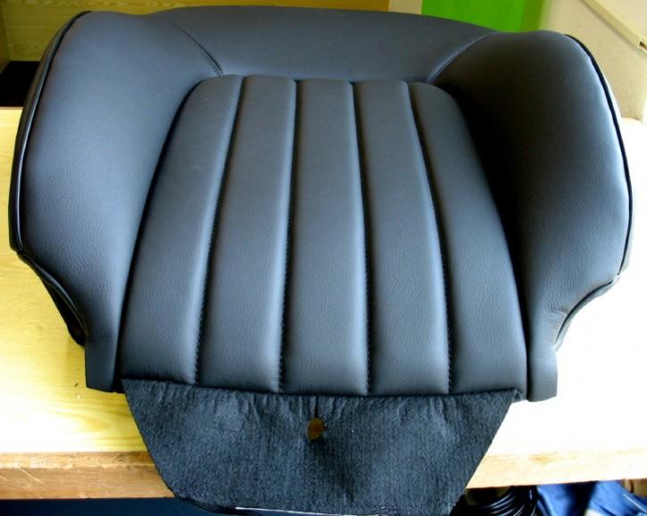 Sitzrückenlehne vorn links Leder schwarz [8872HR]