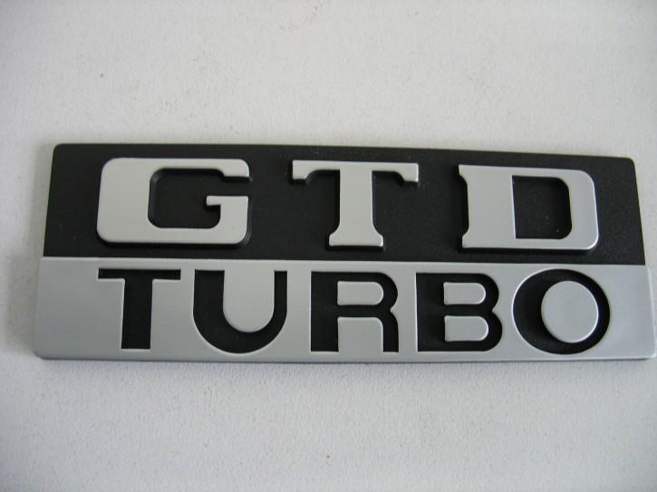 """Emblem """"GTD Turbo"""" Heckbereich [866066]"""