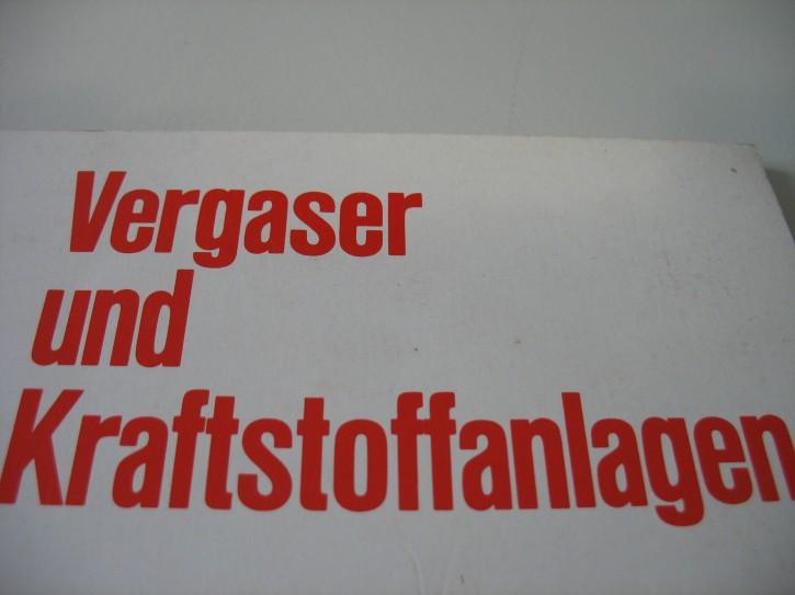 Vergaser und Kraftstoffanlgen von ca. 1970