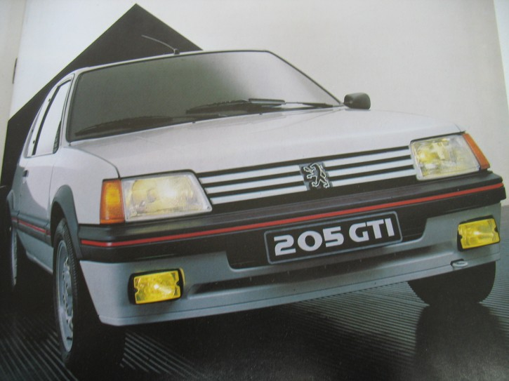 Peugeot 205 GTI 1.6 Vorstellung 1985
