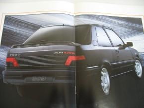 Prospekt Peugeot 309GTI 1.6 1992