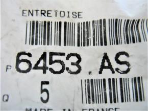 Distanzring [6453AS] PEUGEOT-ORIGINAL-ERSATZTEIL